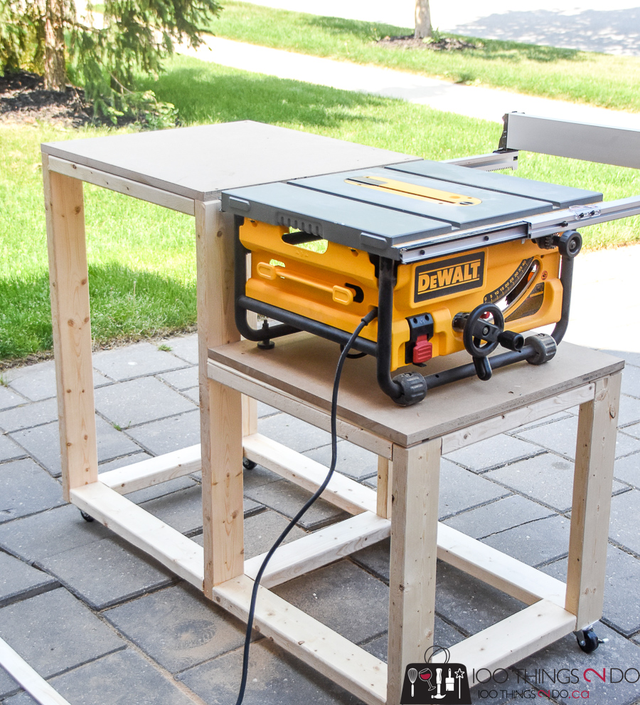 - Table Saw Stand