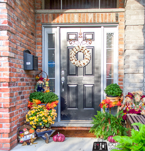 Fall front porch, decorating your porch for Fall, Autumn porch, Fall porch, Fall decor