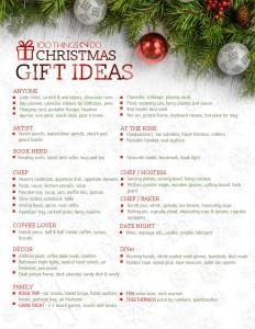 100 Christmas gift ideas, Christmas gift ideas, 100 gift ideas