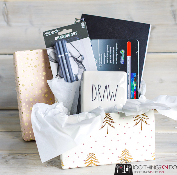 Christmas gift idea for the aspiring artist
