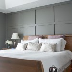 Board and batten, board and batten accent wall, DIY board and batten, board and batten in master bedroom, diy wainscoting