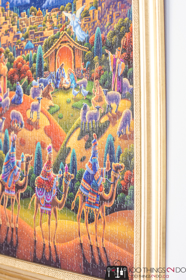 How to frame a puzzle, framing a puzzle, preserving a puzzle, puzzle wall art