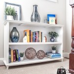 low bookcase building plans, DIY low bookcase, long bookcase, landing bookcase, room divider bookcase