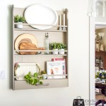 Wall-mounted plate rack, plate rack, DIY plate rack, plate display rack
