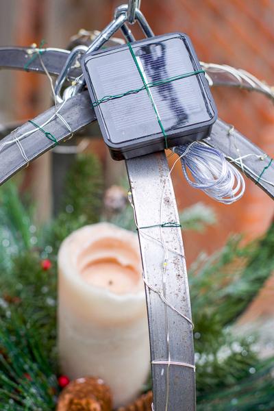 Christmas orb, Christmas sphere, hanging Christmas decoration, Christmas lantern