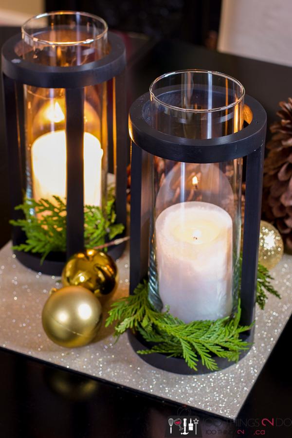 DIY lantern, DIY round lantern, cylinder lantern, round candle holder