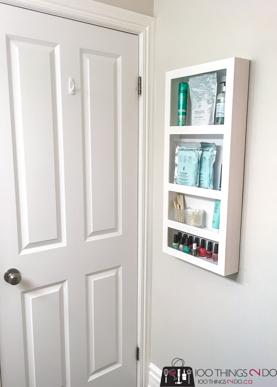 Behind-the-door-storage, behind the door storage rack, DIY door storage