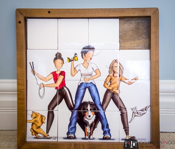 Sliding puzzle, simple sliding puzzle, DIY sliding puzzle, DIY game challenge, #DIYGameChallenge