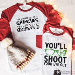Christmas shirt, You'll shoot your eye out shirt, A Christmas Story shirt, DIY Christmas shirt