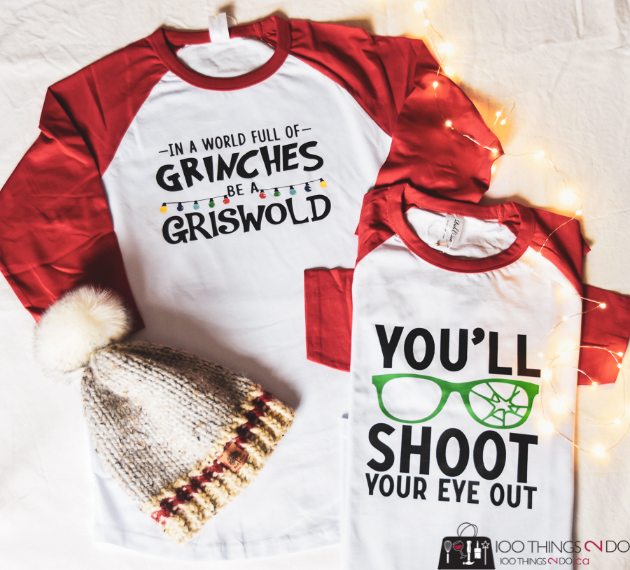Christmas shirt, You'll shoot your eye out shirt, A Christmas Story shirt, DIY Christmas shirt
