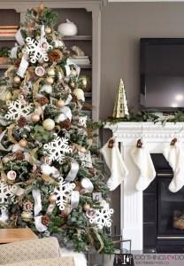 Christmas tree 2019, Christmas tree, white Christmas tree