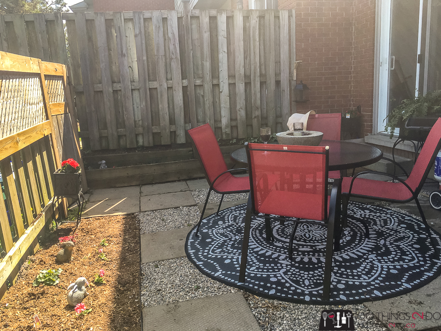 Backyard makeover, backyard makeover on a budget, backyard makeover in a weekend
