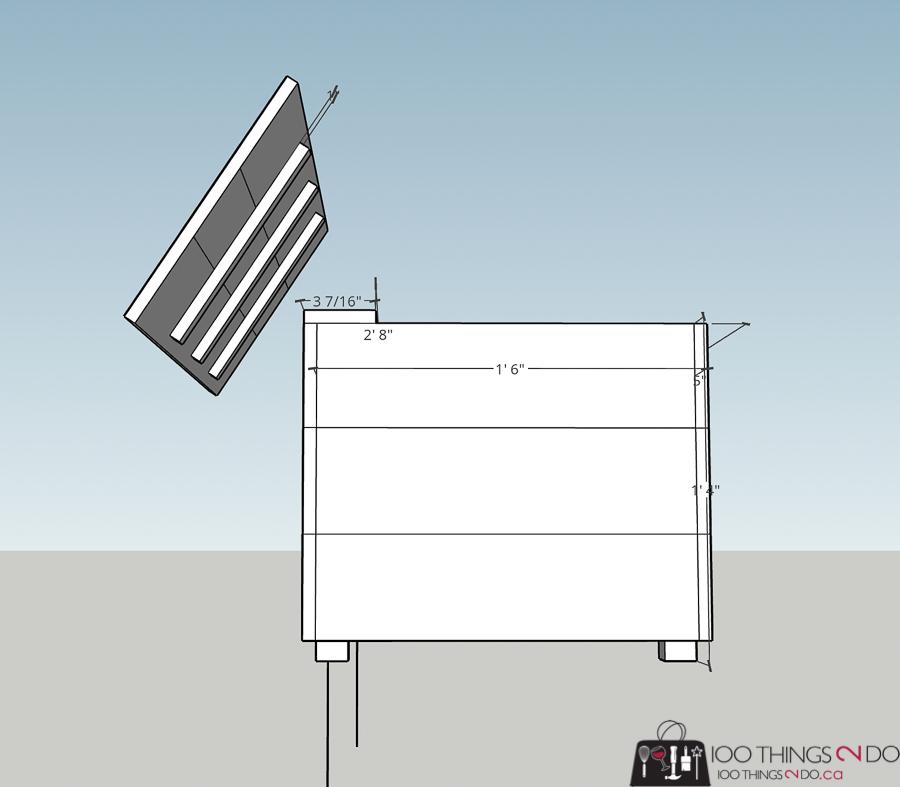 building plans for porch planter bench