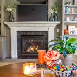 Fall family room, family room decorated for fall, Fall 2020, Fall decor, Autumn decor, Autumn family room