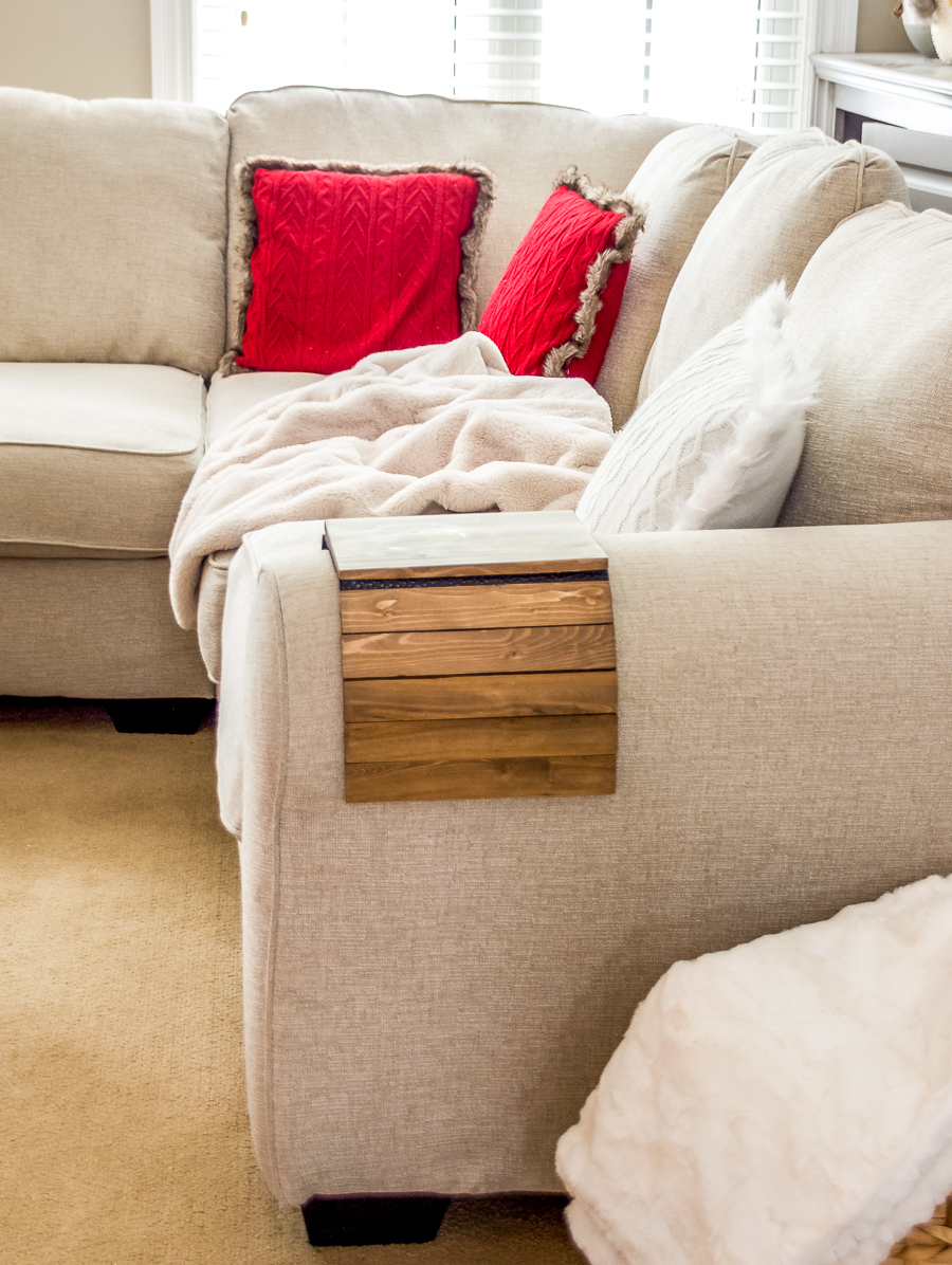 Armrest table, armrest tray, couch arm table, sofa arm table