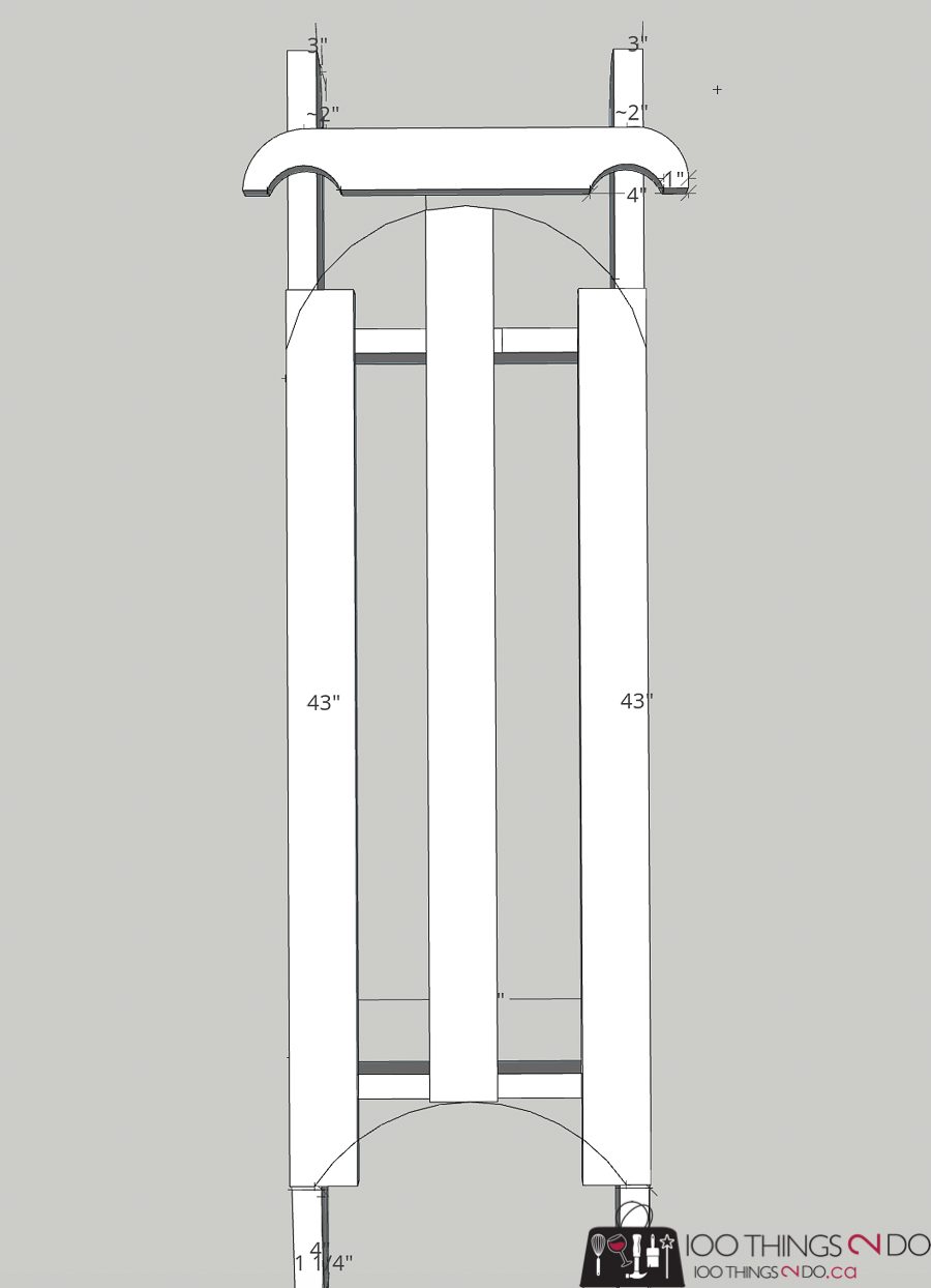 building plans for wooden sled