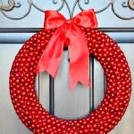 red berry wreath, berry wreath, DIY Christmas wreath