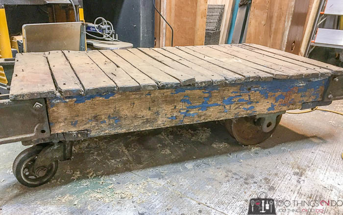 industrial cart, antique industrial cart