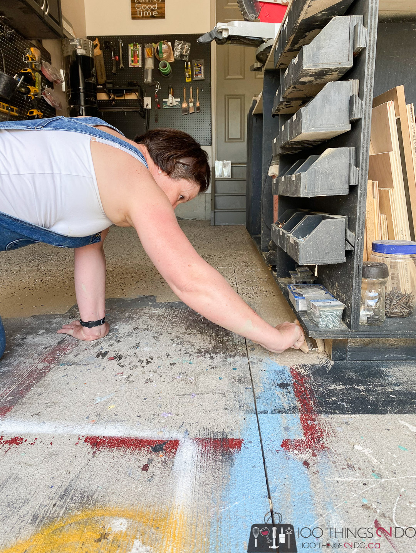 cutting in when applying an epoxy floor coating