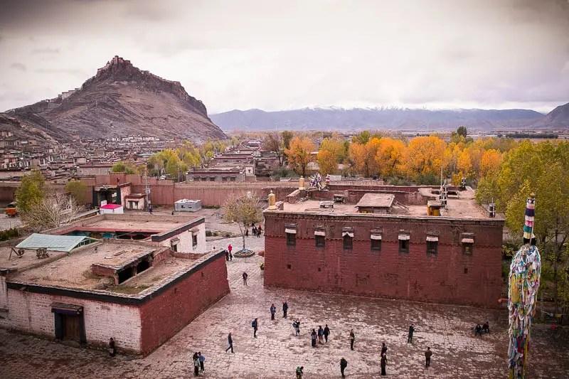 Gyantse fortress