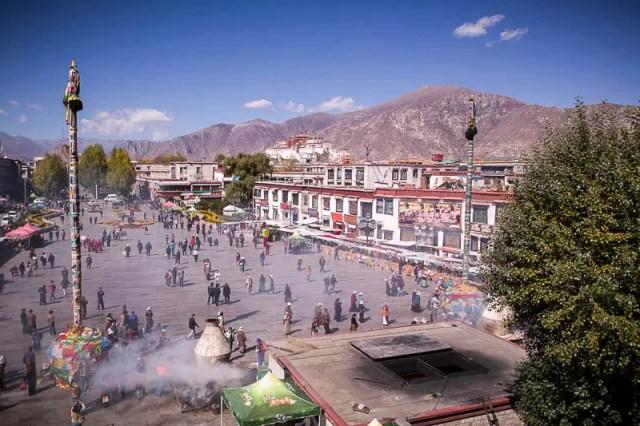 Jokhang Square, Lhasa