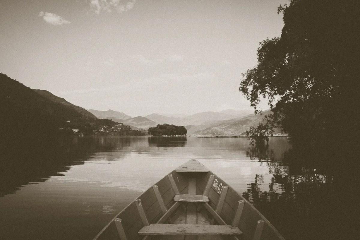 Pokhara Phewa Lake