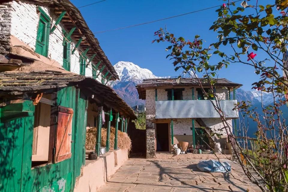 Nepal village house