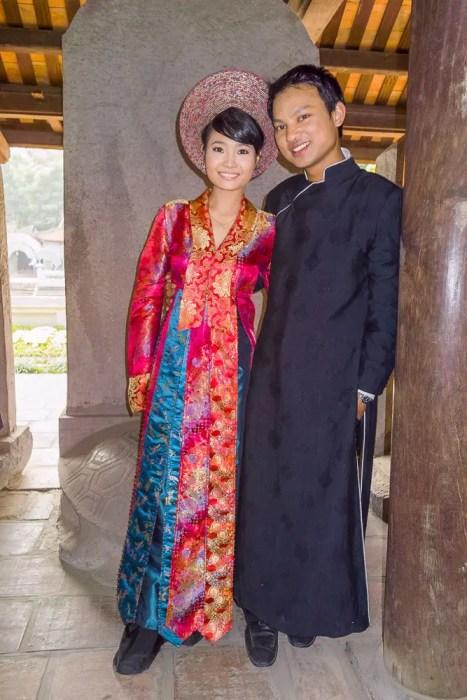 Beautiful Vietnamese couple