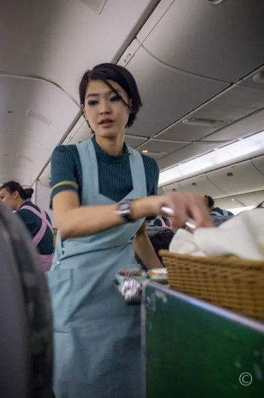 EVA Air Stewardess