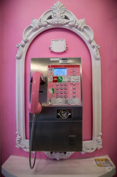 """Hello Kitty"" Phone"