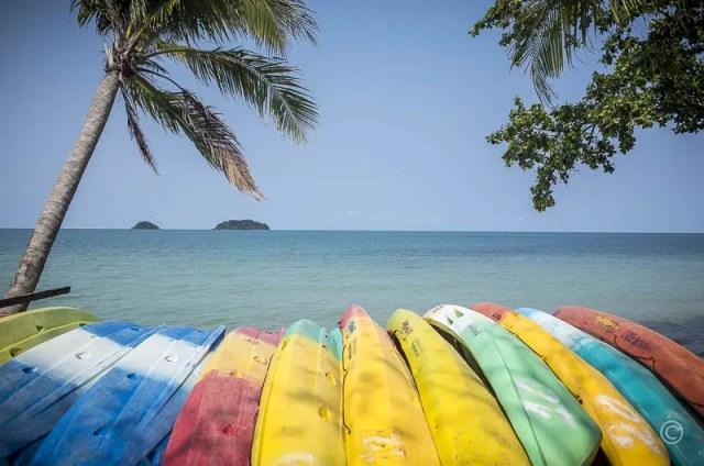 Kayaks, Kai Bae Beach