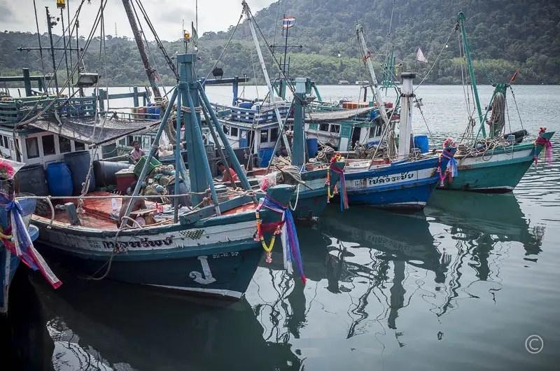 Fishing boats, Ao Yai