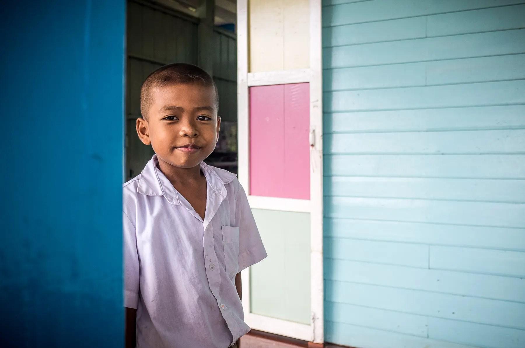 Thai schoolboy