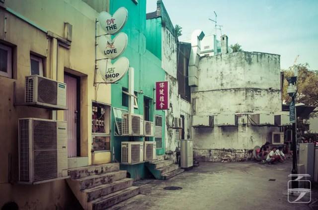 Geylang gambling street