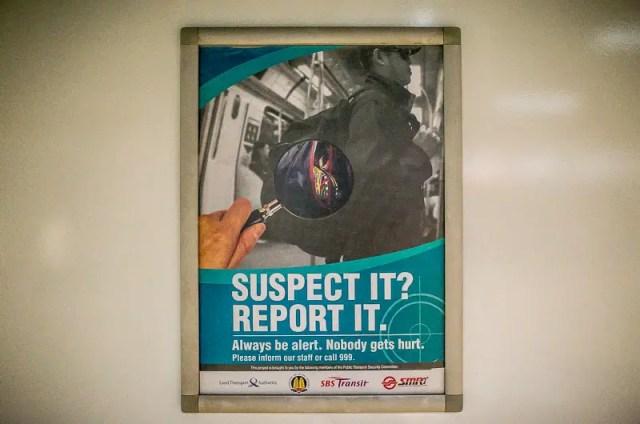 Metro warning
