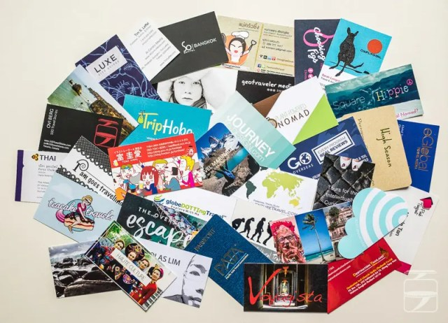 TBEX business cards