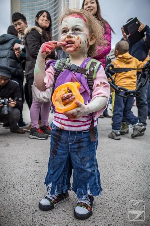 Child zombie