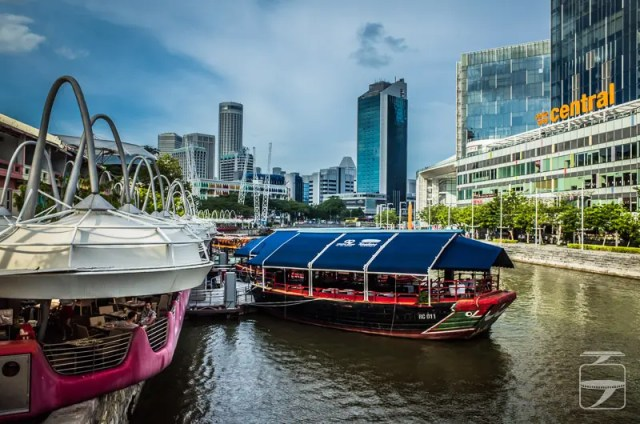 Singapore fun - Clarke Quay