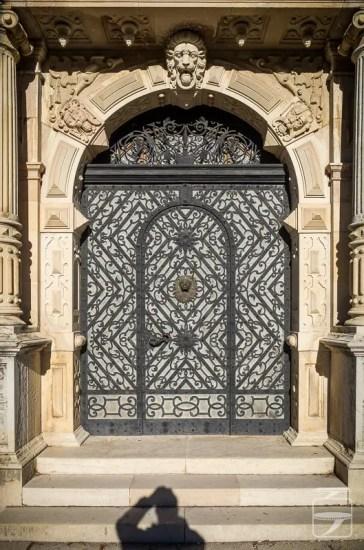 Peles Castle Gate