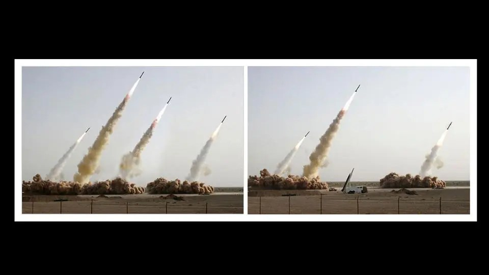 Iran 2008 rocket launch
