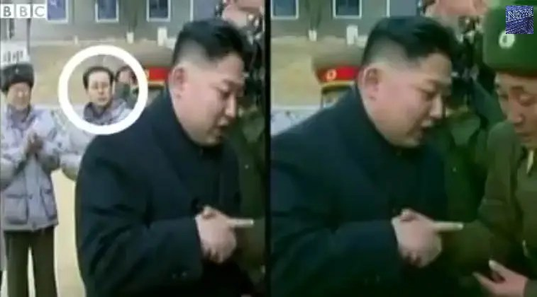 Kim Jong-Un's uncle has been digitally removed