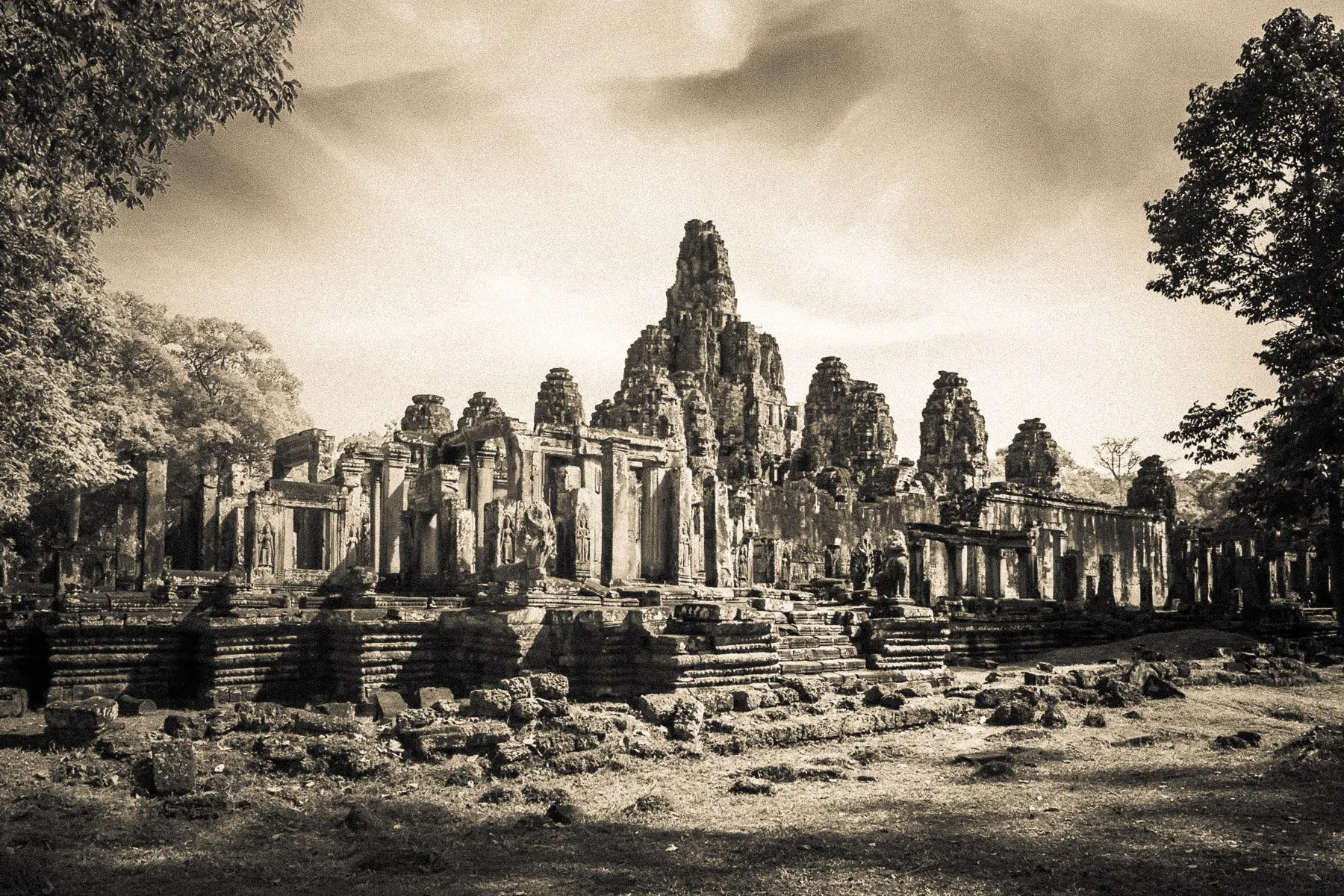The wonder of Angkor Wat