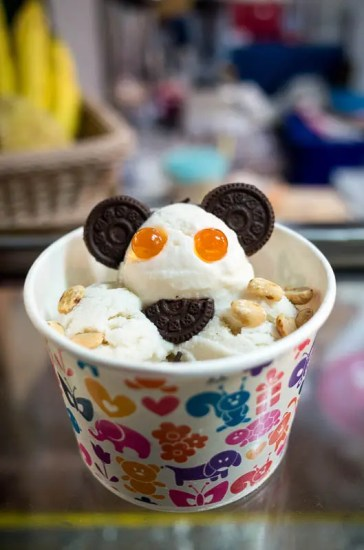 Panda ice cream