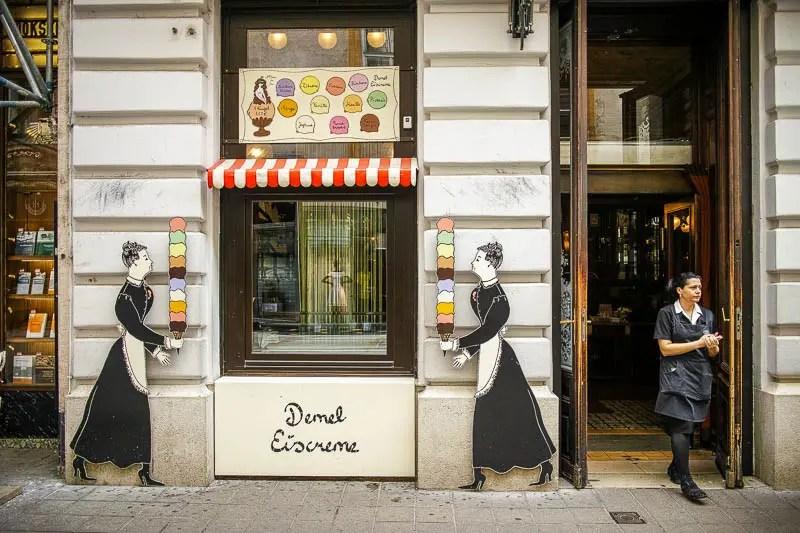 Demel Eiscreme, Vienna