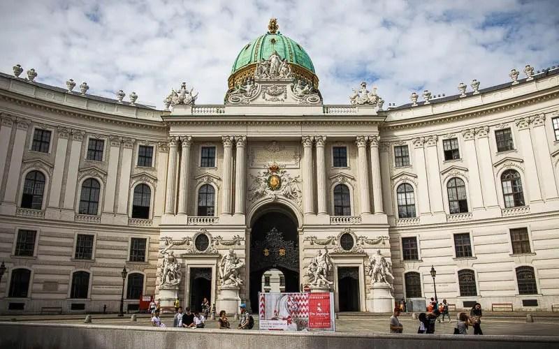 Hofburg Palace entrance