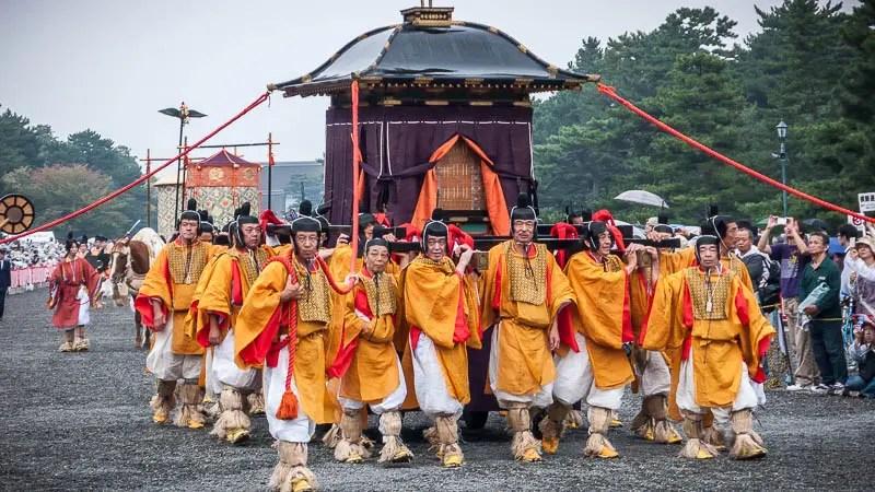 Jidai Matsuri festival Kyoto