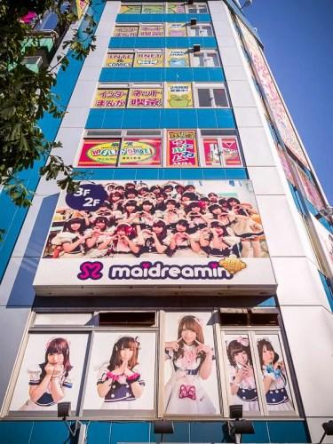 Maidreamin - maid cafe, Tokyo