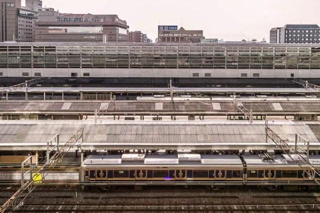 Kyoto Station railways
