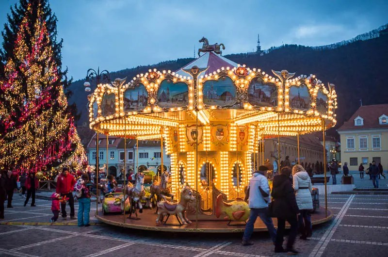 Christmas carousel Brasov