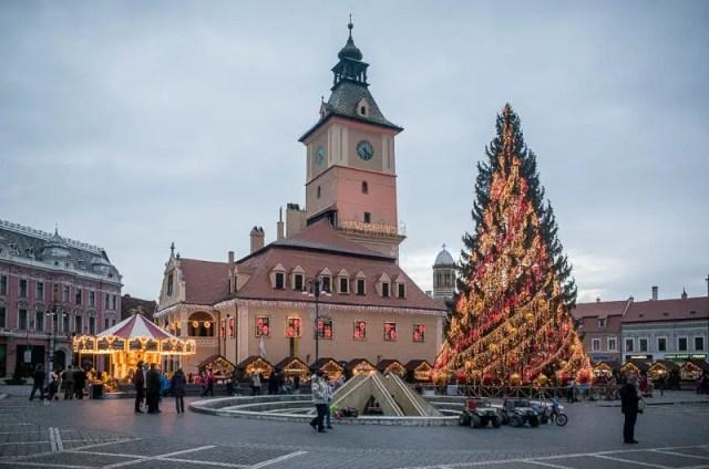 Brasov Christmas Market, Romania
